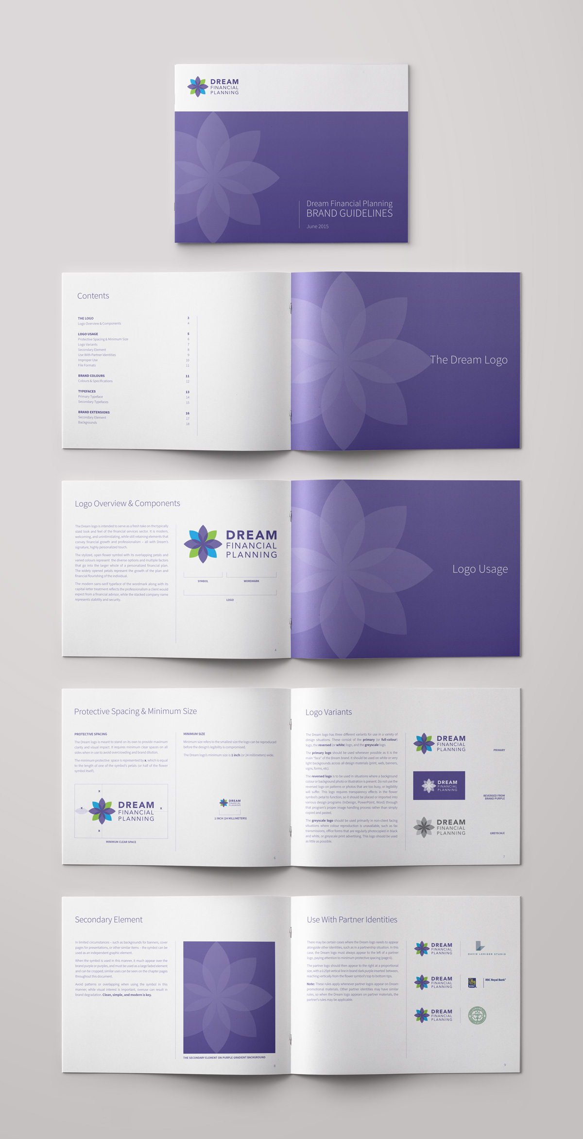 Dream Financial Planning – Visual Identity Guide Part 1